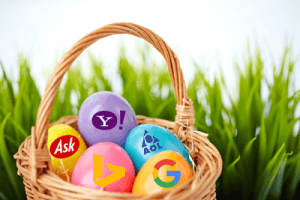 Eggs In Search Engine basket