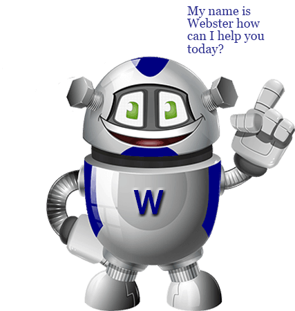 webster the 3001 web robot