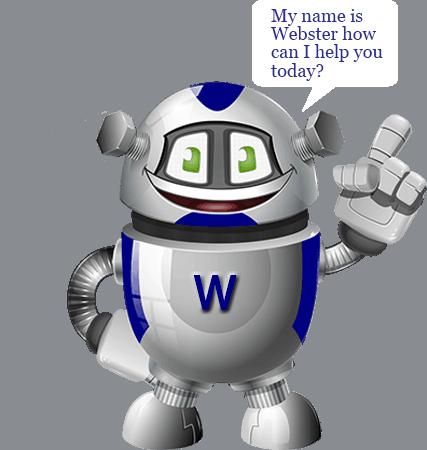 webster the 3001 web robot