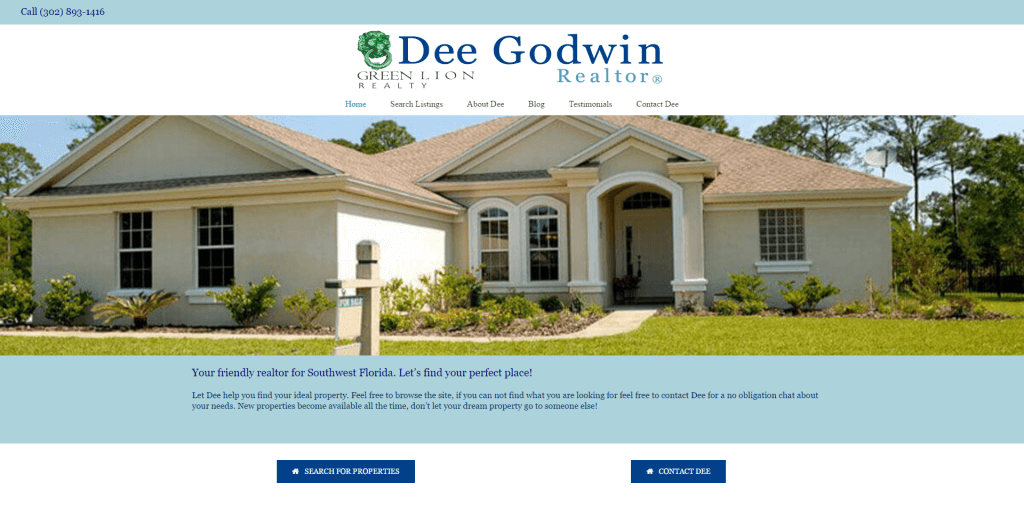 dee godwin realtor screenshot