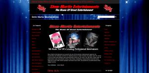 steve martin entertainments screen shot