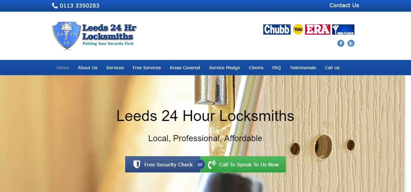 Leeds 24 hour locksmith
