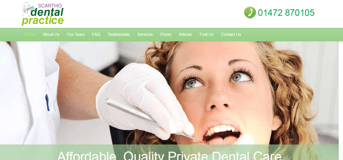 scartho dental practice